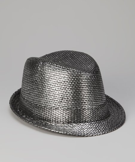 Gunmetal Metallic Fedora