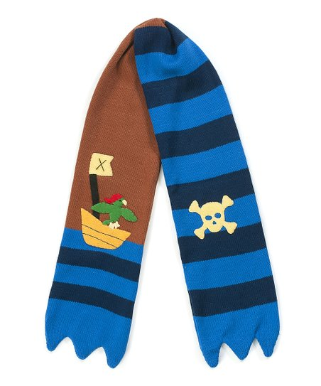 Black & Brown Pirate Scarf