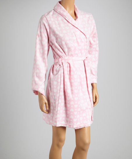 Pink Hearts Simply Sweet Robe - Women