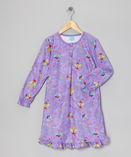 Purple Fairy Nightgown - Toddler
