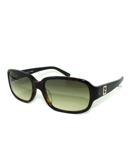 Eggplant Sunset Rectangle Sunglasses