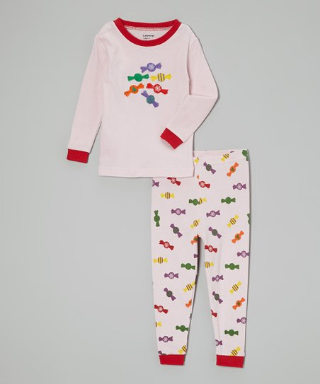 Pink Candy Pajama Set - Infant, Toddler & Kids