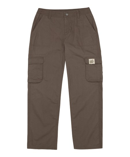 Dark Brown Journey Cargo Pants - Women