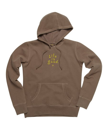 Dark Brown Softwash Hoodie - Women