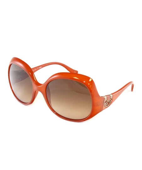 Orange & Brown Sunglasses