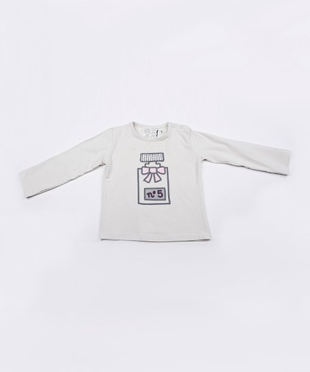 White Perfume Tee - Toddler & Girls