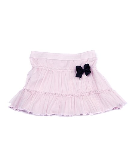 Light Pink Tiered Ruffle Skirt - Infant, Toddler & Girls