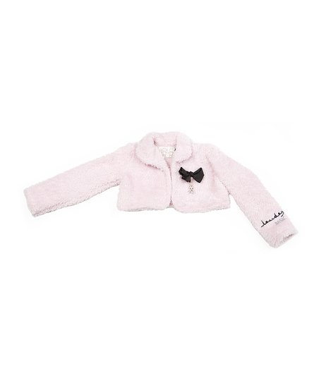 Light Pink Faux Fur Jacket - Infant, Toddler & Girls