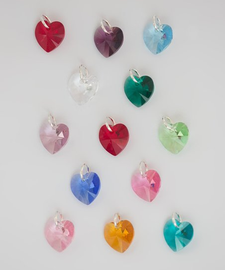 Heart Large Charm Made With SWAROVSKI ELEMENTS