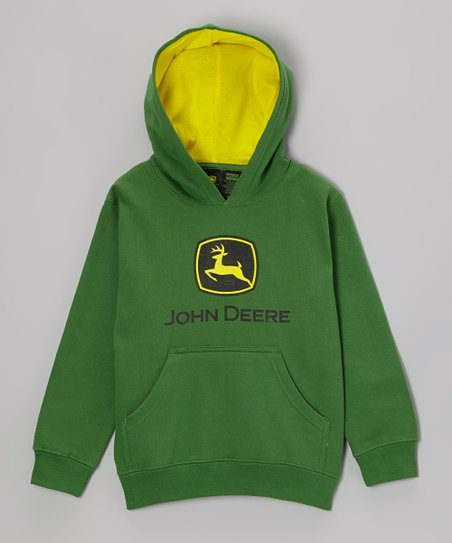 Green Branded Hoodie - Toddler