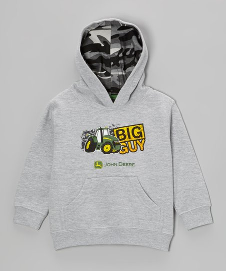 Heather Gray 'Big Guy' Hoodie - Infant