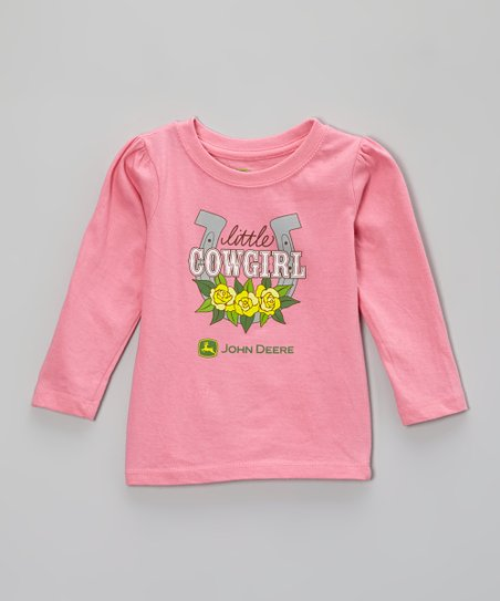 Pink 'Little Cowgirl' Tee - Infant & Toddler