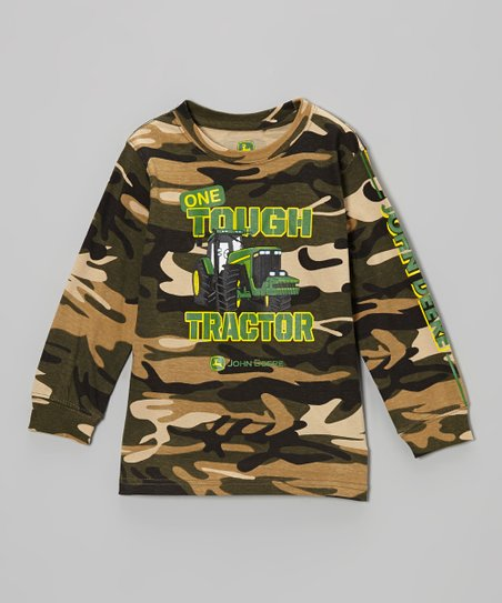 Camo 'One Tough Tractor' Tee - Infant