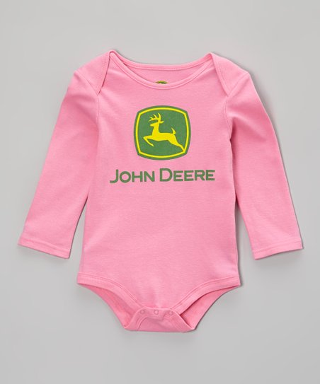 Pink Branded Bodysuit - Infant