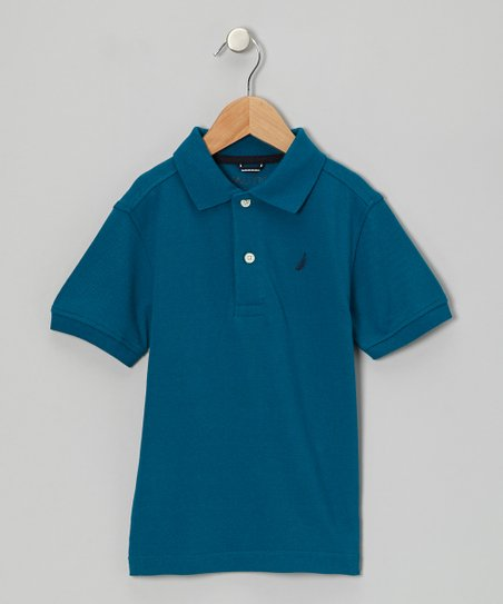 Teal Polo - Boys