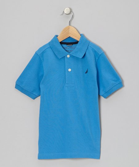 Blue Polo - Boys