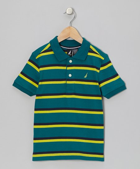 Spruce Stripe Polo - Boys
