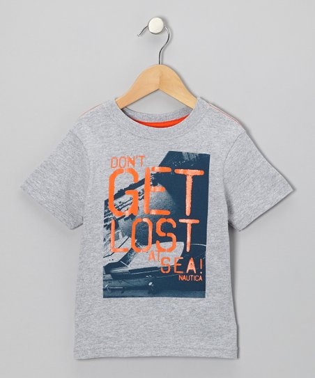 Light Gray Heather Tee - Boys