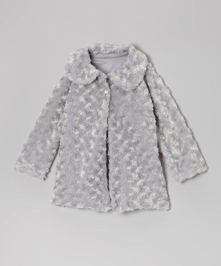 Cerulean Minky Jacket - Infant, Toddler & Girls