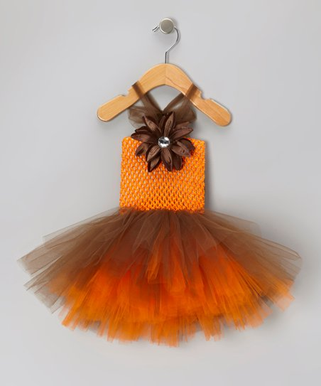 Autumn Lily Tutu Dress - Infant