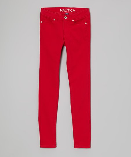 Red Skinny Jeans - Toddler & Girls