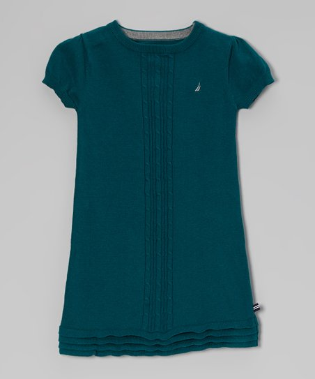 Ivy Cable Sweater Dress - Girls