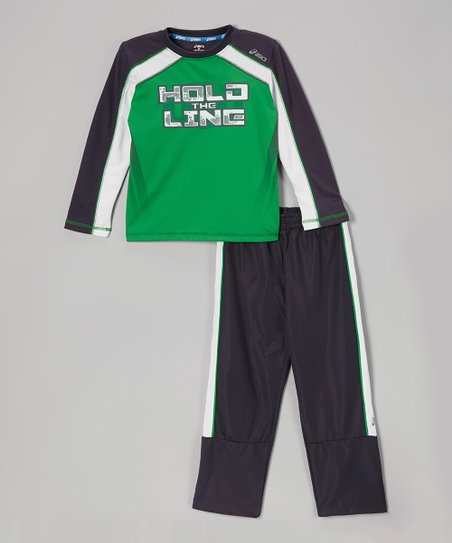 Steel Motivate Top & Track Pants - Boys