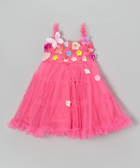 Pink Pretty Garden Dress - Toddler & Girls