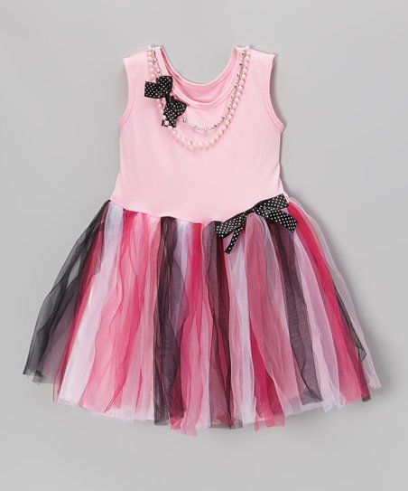 Pink Pearl Princess Dress - Toddler & Girls