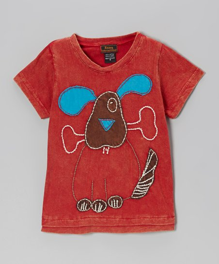 Red Dog & Bone Tee - Boys