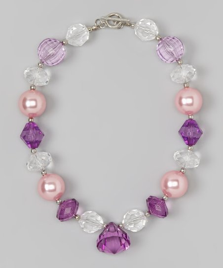Lavender & Pink Necklace