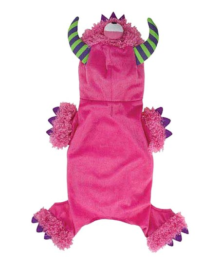Pink & Purple Monster Pet Costume