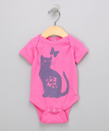 Raspberry Pretty Kitty Bodysuit - Infant