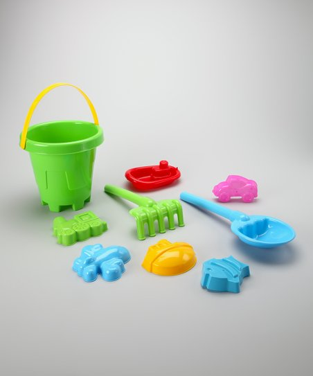 Green Sand Barrel Set
