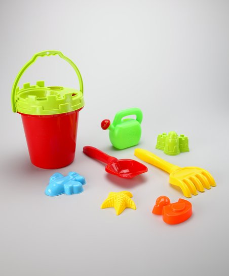 Red & Green Sand Barrel Set