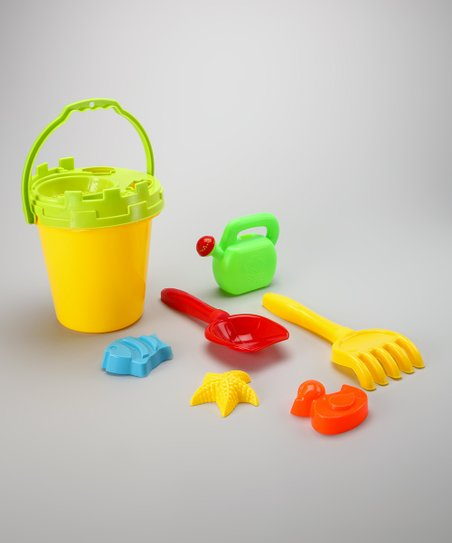 Yellow & Green Sand Barrel Set