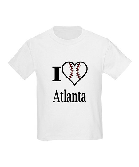 White 'I Love Atlanta' Tee - Kids