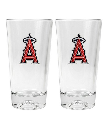 Los Angeles Angels Pint Glass - Set of Two