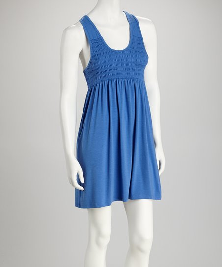 Royal Snow Racerback Dress