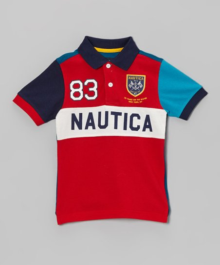 Holly Red Piqué Polo - Toddler & Boys