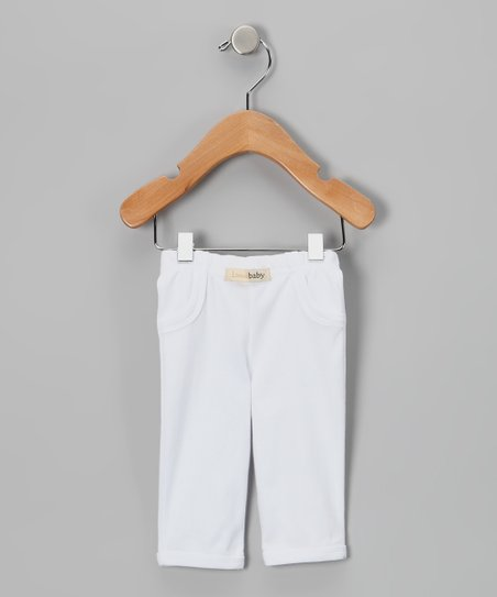 White Pants - Infant