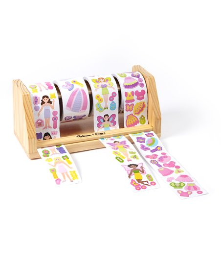 Princess & Fairy Sticker Rolls Set