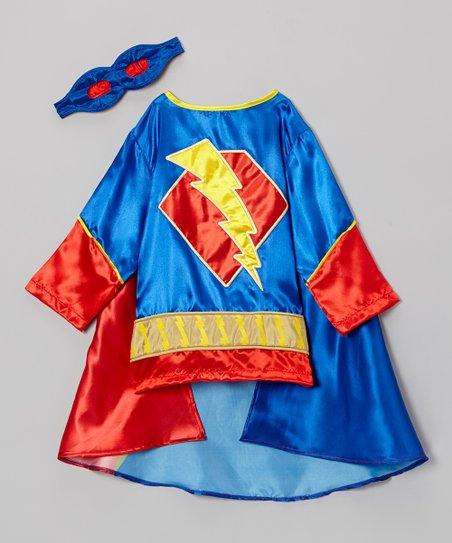 Blue & Red Super Hero Dress-Up Set