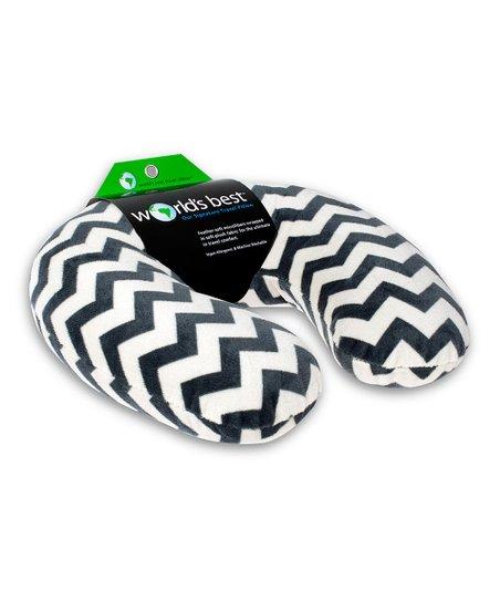 Chevron World's Best Microfiber Neck Pillow