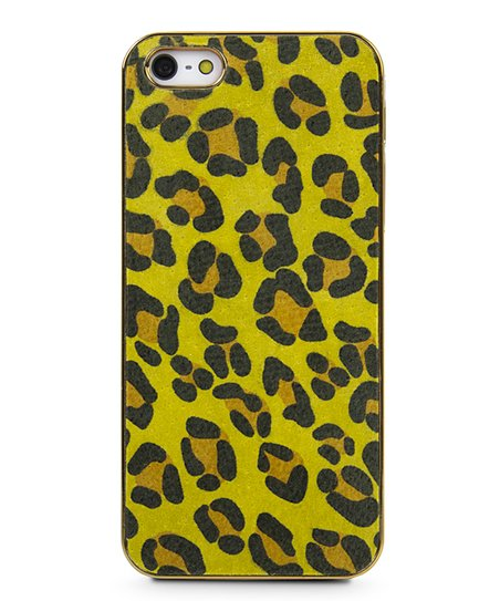Yellow Cheetah Case for iPhone 5