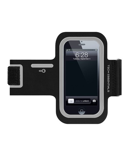 Black & Silver Armband for iPhone/iPod touch