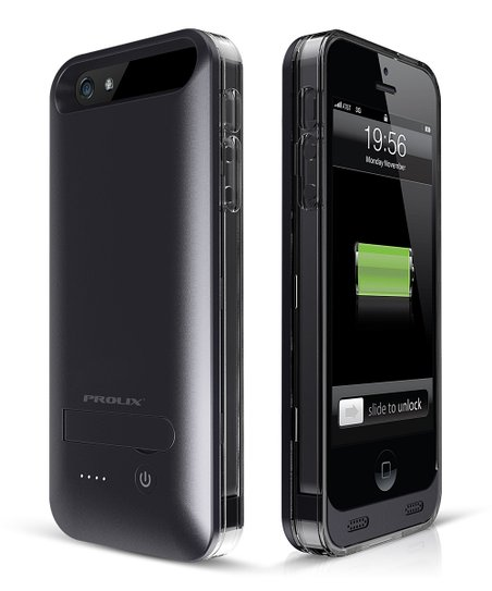 Black Protective Battery Case for iPhone 5/5s