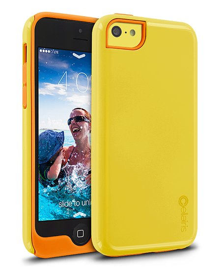 Yellow & Orange Aero Case for iPhone 5c