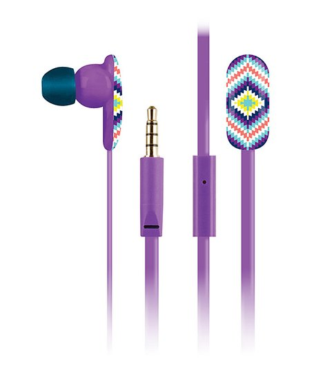 Pipper Sprinkle Oval Earbuds