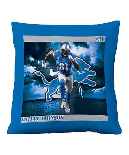 Detroit Lions Calvin Johnson Floor Pillow